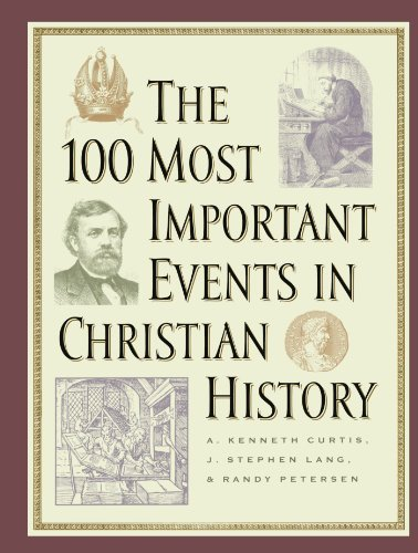 9780800756444: The 100 Most Important Events in Christian History