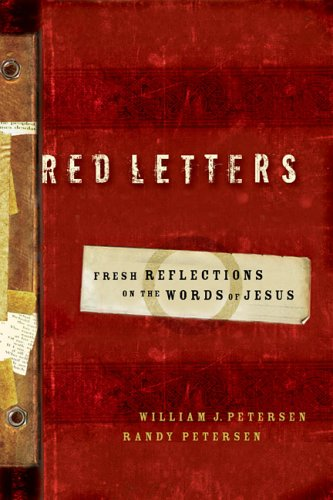 9780800759230: Red Letters: Fresh Reflections on the Words of Jesus