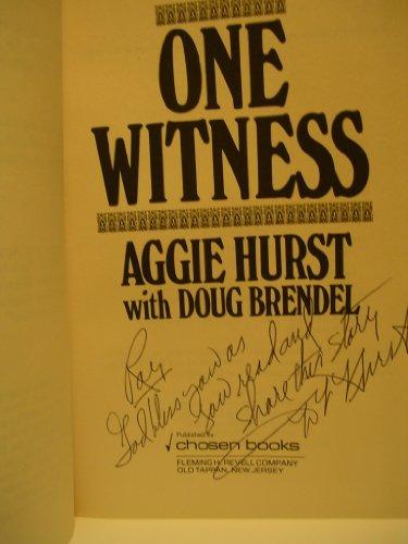 One witness: Hurst, Aggie