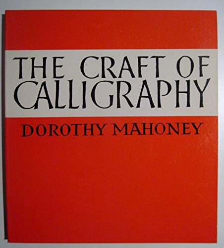 9780800819705: The Craft of Calligraphy
