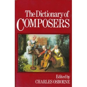 9780800821951: Dictionary of Composers