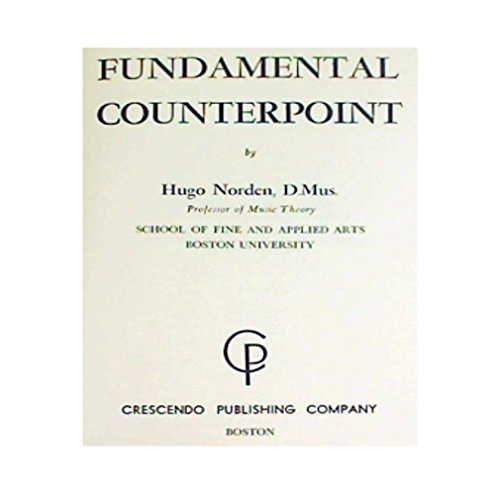 9780800830991: Fundamental Counterpoint
