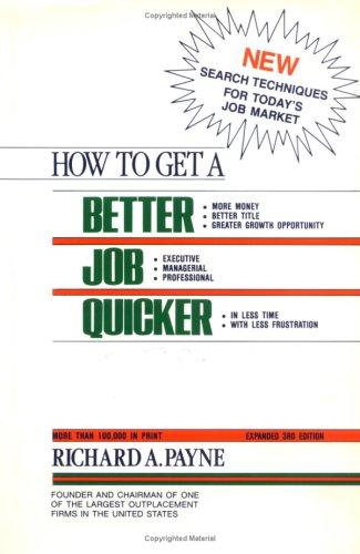 9780800839659: How to Get a Better Job Quicker