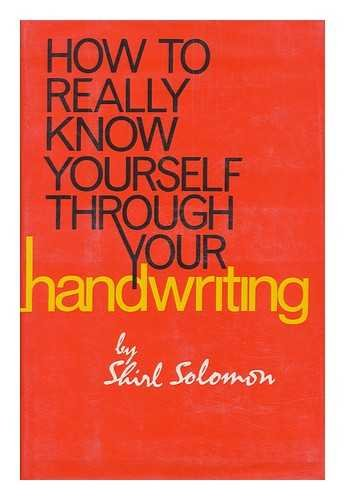 9780800839666: How to really know yourself through your handwriting