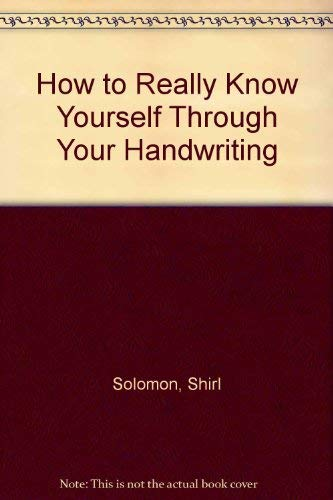 9780800839673: How to Really Know Yourself Through Your Handwriting