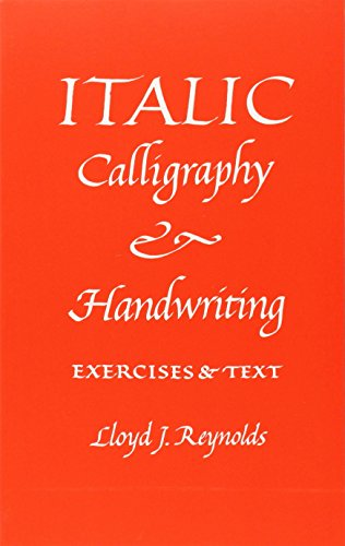 9780800842840: Italic Calligraphy and Handwriting Exercises and Text