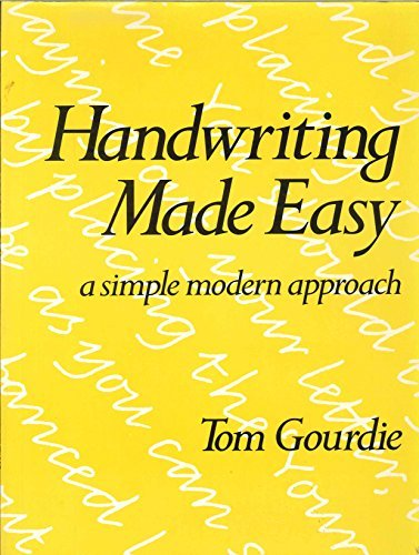 Handwriting Made Easy: A Simple Modern Approach