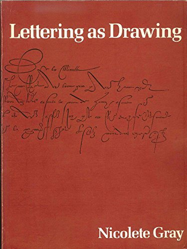 9780800847296: Lettering As Drawing