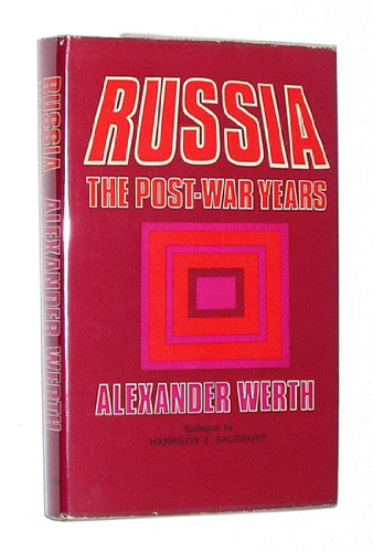 9780800869304: Russia: The Post-War Years