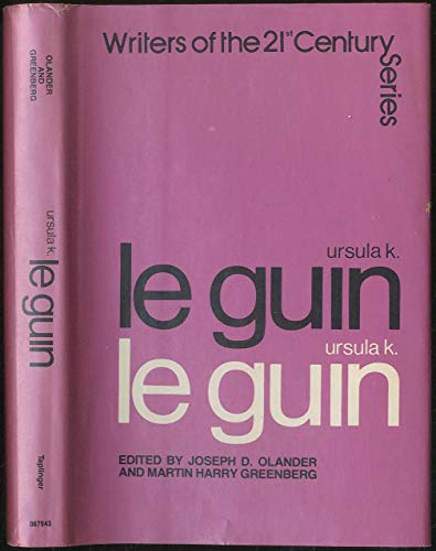 Ursula K. Le Guin (Writers of the 21st Century Series) (SIGNED)