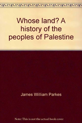 9780800882600: Whose land? A history of the peoples of Palestine