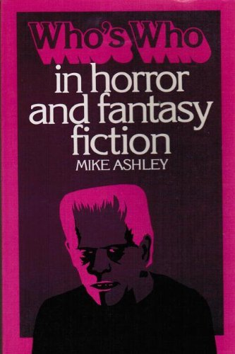 9780800882785: Who's who in horror and fantasy fiction