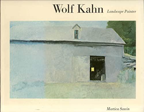 WOLF KAHN Landscape Painter: SAWIN, MARTICA