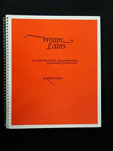 Written letters: 29 alphabets for calligraphers: Svaren, Jacqueline
