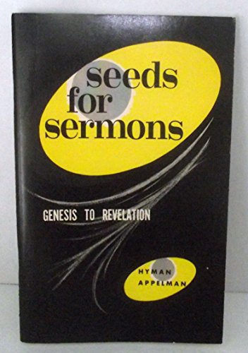 9780801000263: Seeds for Sermons
