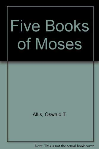 9780801001086: Five Books of Moses