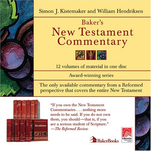 New Testament Commentary on CD-ROM, The (0801002958) by William Hendriksen; Simon J. Kistemaker
