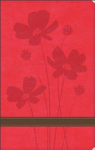 9780801003196: GW Thinline Bible Rose/Brown, Flower Design Duravella