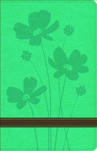 9780801003202: GW Thinline Bible Turquoise/Brown, Flower Design Duravella
