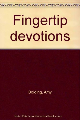 9780801005022: Fingertip devotions