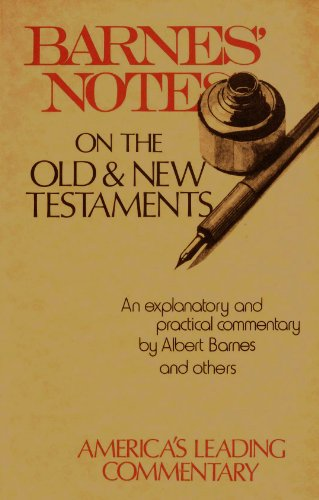 9780801005152: Barnes' Notes: On the Old Testament, Vol. 1 ...