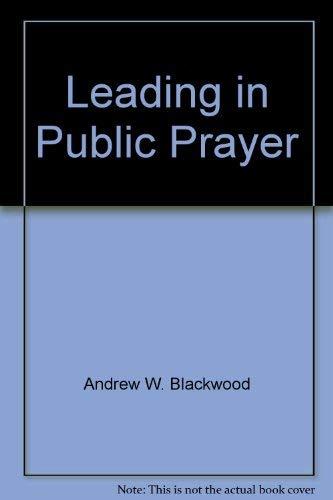 9780801006425: Leading in Public Prayer