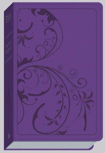 9780801013614: GW Thinline Bible Purple Shimmer, Vine Design Duravella