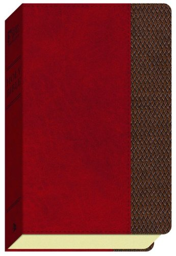 9780801013621: GW Thinline Bible Saddle/Brown, Thatch Design Duravella