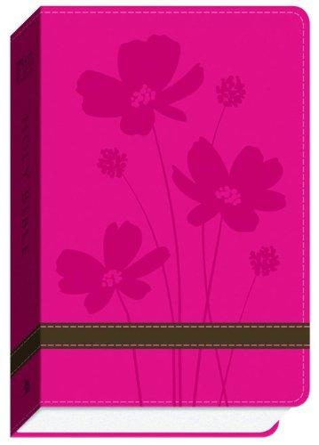 9780801014000: GW Compact Bible Rose/Brown, Flower Design Duravella