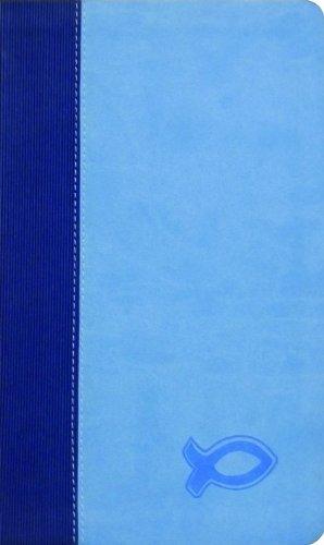 9780801014390: KJV Study Bible for Boys Blue/Light Blue Duravella