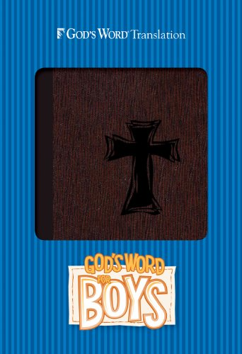 9780801014765: God's Word for Boys Autumn Bark, Cross Design Duravella