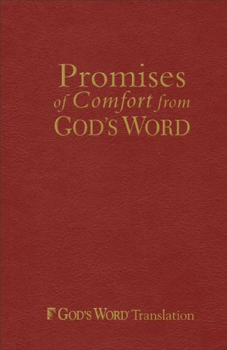 Promises of Comfort from GOD'S WORD, Maroon Imitation Leather (Vocal Library): Baker ...
