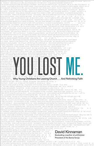9780801015892: You Lost Me: Why Young Christians Are Leaving Church . . . and Rethinking Faith