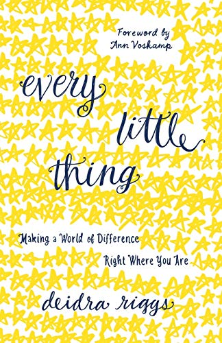 9780801018428: Every Little Thing: Making a World of Difference Right Where You Are