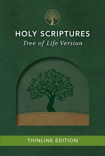 9780801019227: TLV Thinline Bible, Holy Scriptures, Grove/Sand, Tree Design Duravella