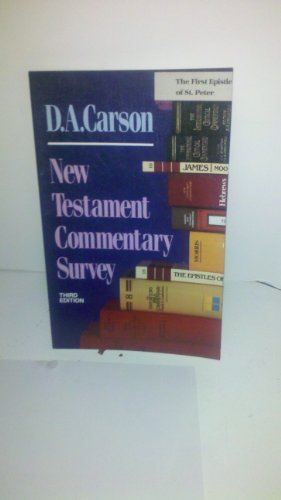 9780801025358: Title: New Testament Commentary Survey