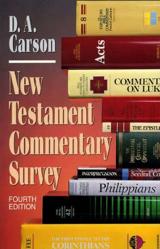 9780801025792: New Testament Commentary Survey