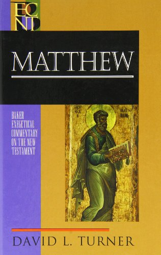 9780801026843: Matthew (Baker Exegetical Commentary on the New Testament)