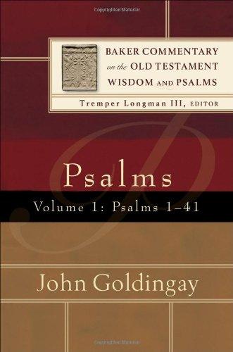 9780801027031: Psalms: Psalms 1-41 v. 1 (Baker Commentary on the Old Testament Wisdon and Psalms)