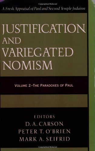 9780801027413: Justification and Variegated Nomism, vol. 2