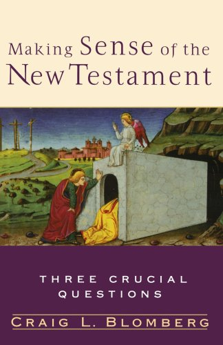 9780801027475: Making Sense of the New Testament: Three Crucial Questions