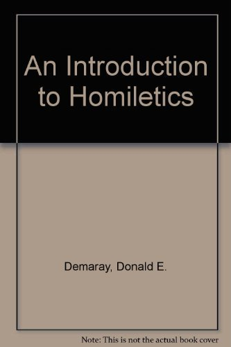 9780801028922: An Introduction to Homiletics