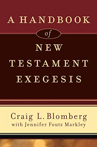 9780801031779: A Handbook of New Testament Exegesis (New Testament Studies)