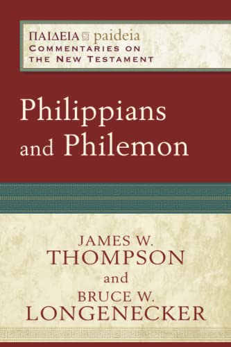 9780801033391: Philippians and Philemon (Paideia: Commentaries on the New Testament)