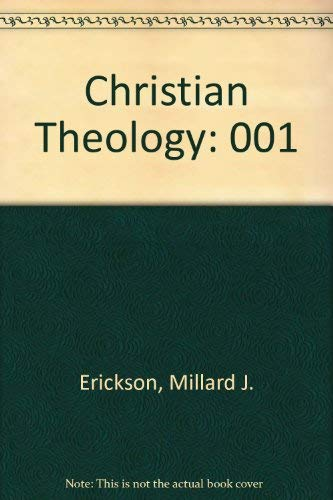 9780801033919: Christian Theology: Vol. 1