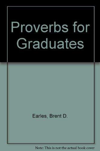 9780801034152: Proverbs for Graduates