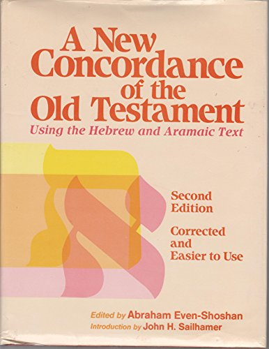 9780801034176: A New Concordance of the Old Testament