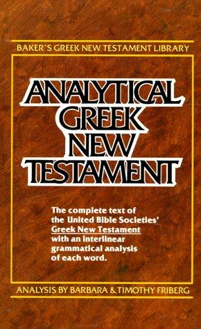 Analytical Greek New Testament