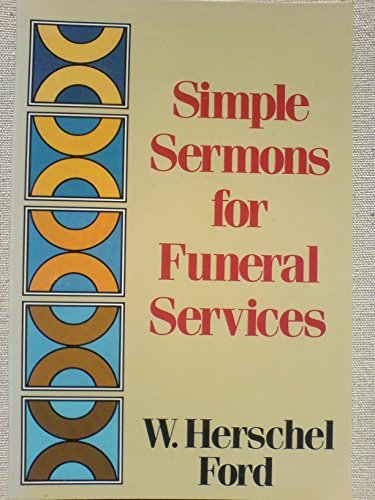 9780801035142: Simple Sermons for Funeral Services