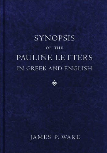 9780801038891: Synopsis of the Pauline Letters in Greek and English